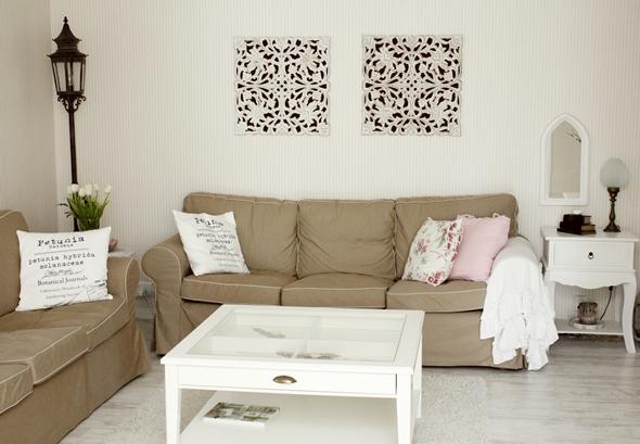 Soffbord Lantligt: Snygga vita möbler romantisk lantlig stil ...