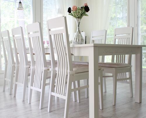 Billiga Koksbord :   Koksbord Vitt Kopa billiga ofelia bord 170 vit valnot matbord