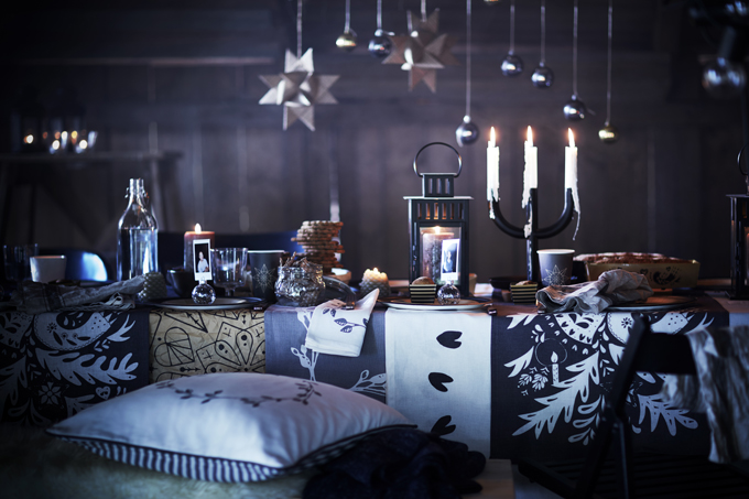 IKEA VINTER 2016 kollektion svart vit natur