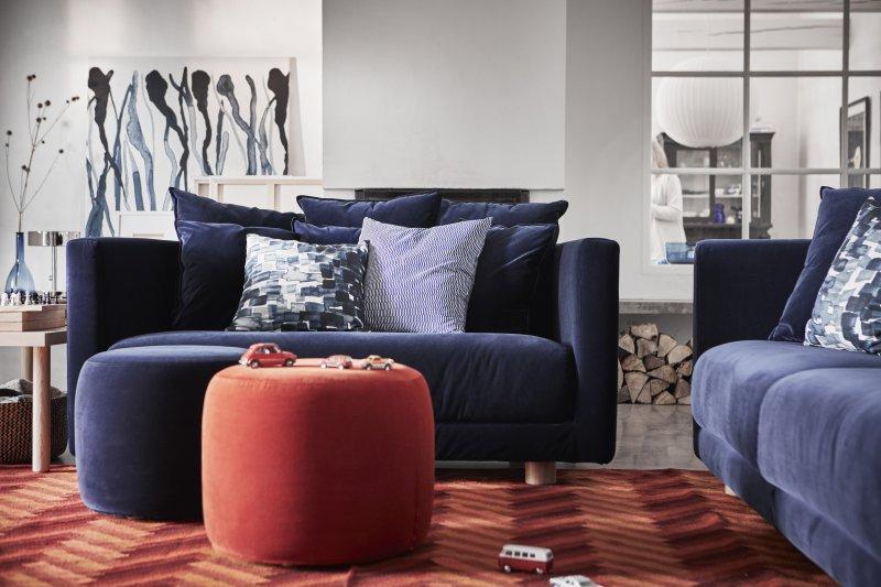 IKEA STOCKHOLM 2017 soffa puff PH141790