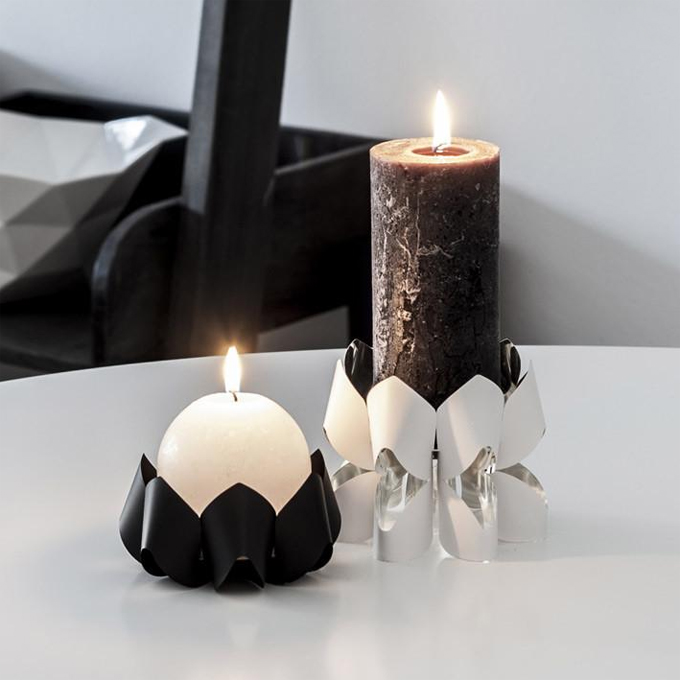 Palea tall candle holder