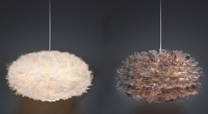 clas ohlson fjaderlampa
