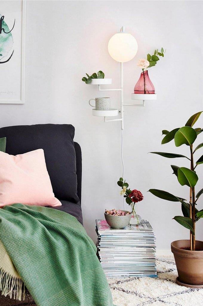 astoria lamp white
