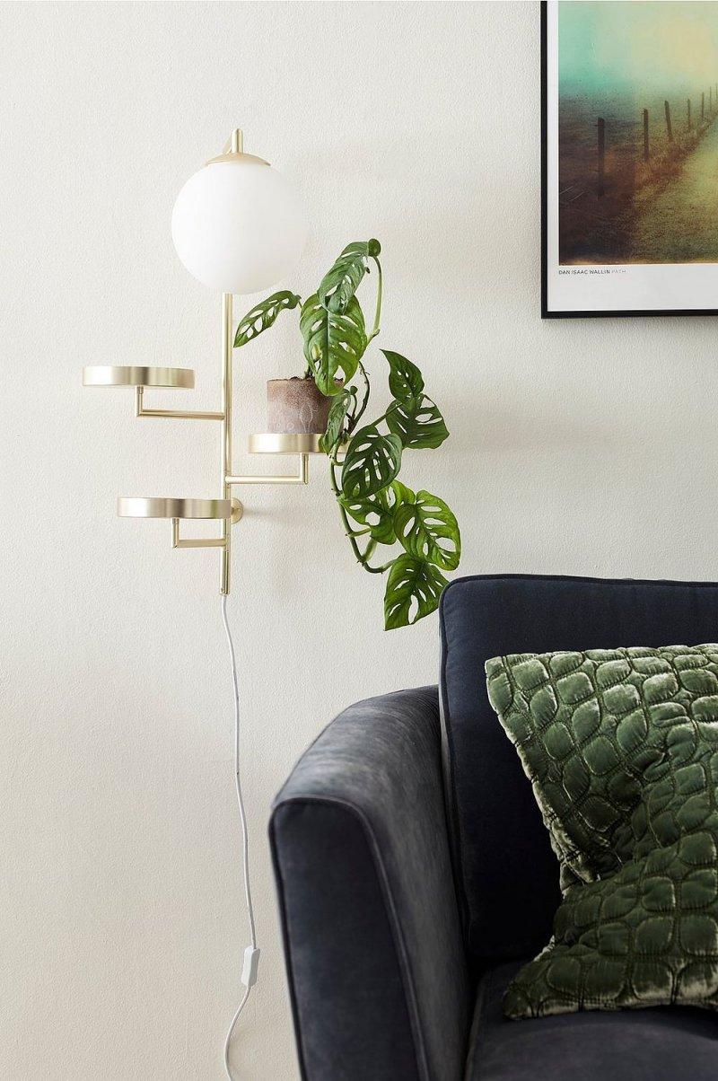 astoria lamp brass