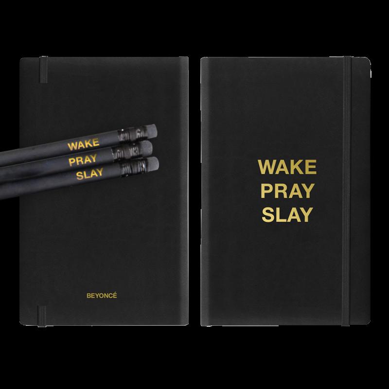 wakeprayslay notebook