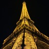 Eiffel Tower Paris By Night By Miss P