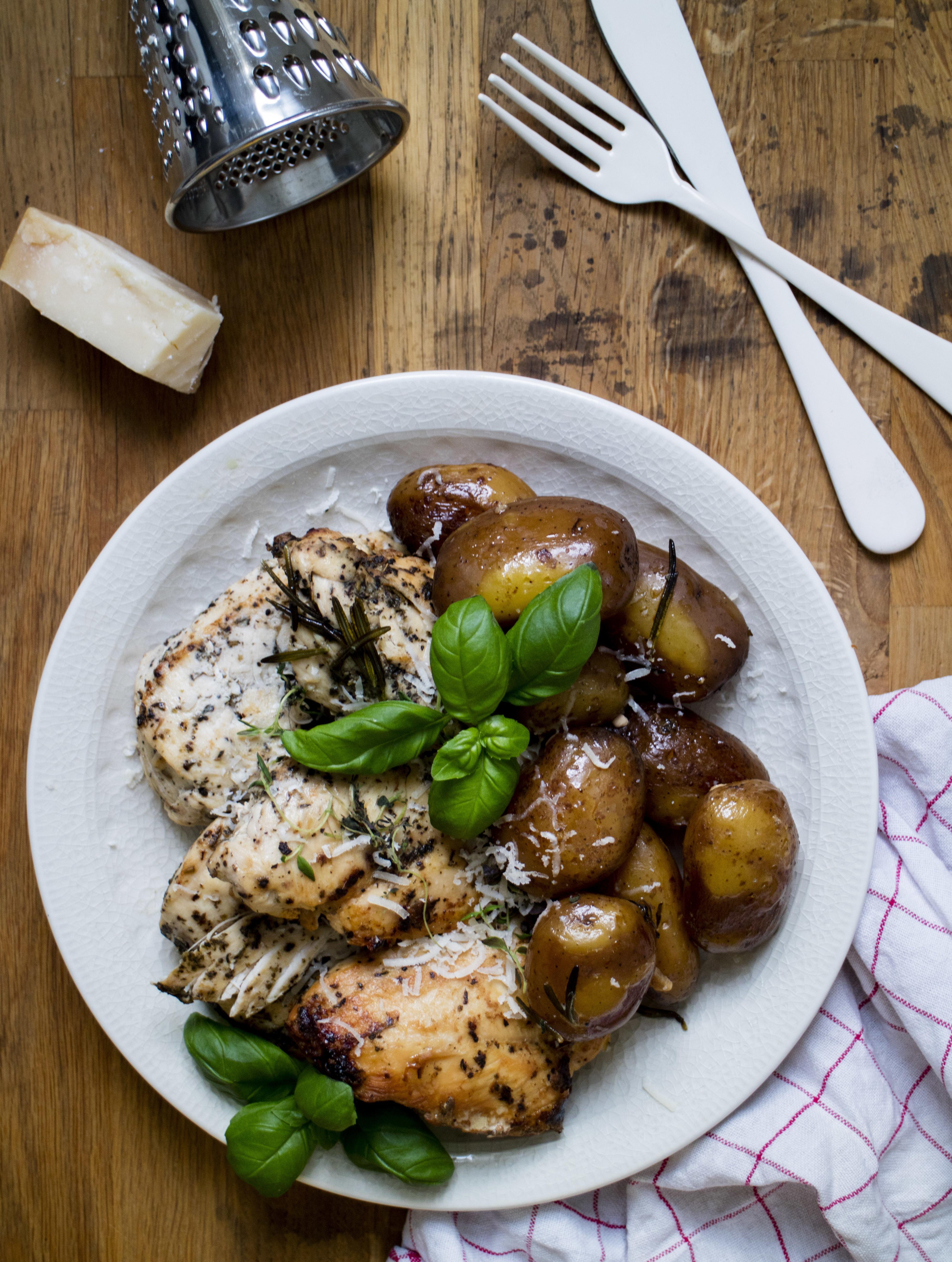 slow cooker recept kyckling