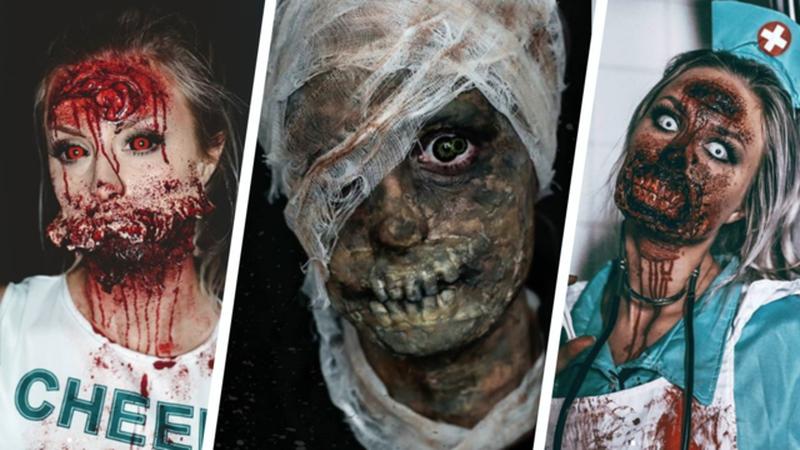 Laskiga Halloween Sminkningar.Lifestyle Inspiration Halloweensmink Sevendays